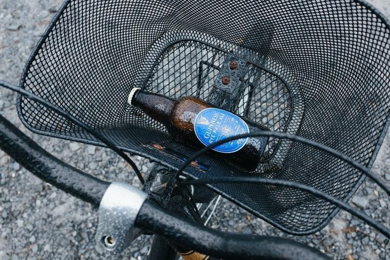 jazda rowerem po alkoholu