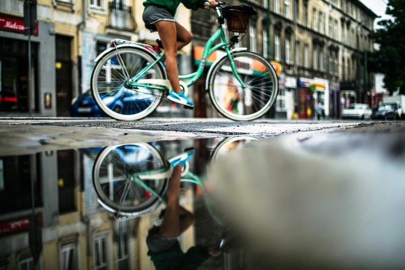 poznań na rowerze