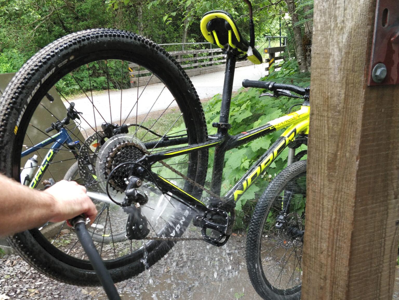 mycie roweru