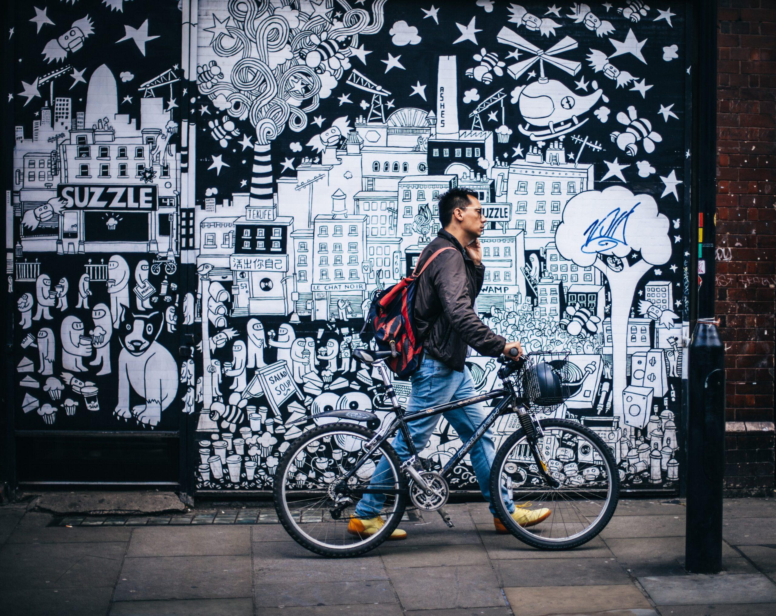 rower miejski dla mężczyzn