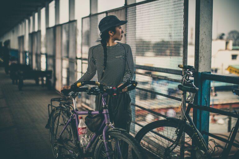 rower damski z przeżutkami